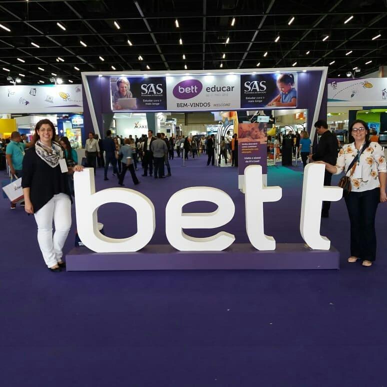 Orientadoras Pedagógicas participam de congresso de educação e tecnologia